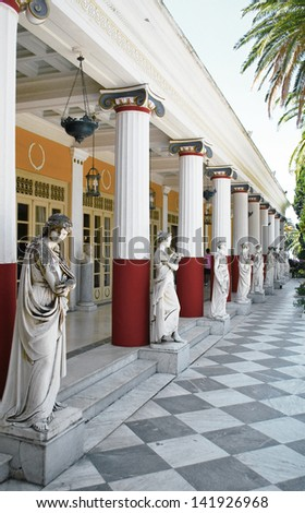Women Sculptures - stock photo