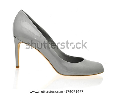 Women shoes, isolated on white
