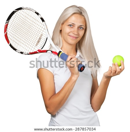 Women, Young Adult, Tennis.