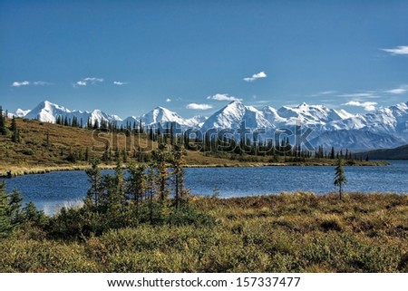 Wonder Lake Denali National Park