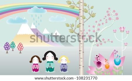 Wonderland - stock photo