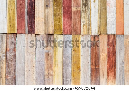 Wood aged plank texture, vintage wooden wall background