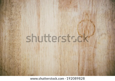 wood background drops of water stains - stock photo