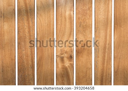 wood background isolated on white background , clipping path - stock photo