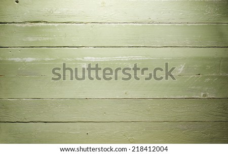 Wood Background shabby green