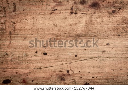 Wood background texture of smooth wooden boards scored and stained with age - stock photo