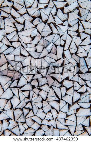 Wood background, Thailand - stock photo