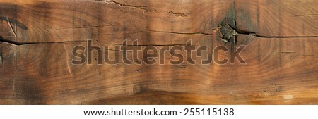 Wood background witch scratches and cracks - stock photo
