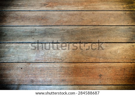 Wood backgrounds with vignette