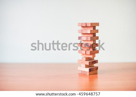 stacked blocks