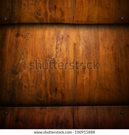 wood board - stock photo