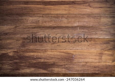 wood brown plank texture background, Vintage wood - stock photo