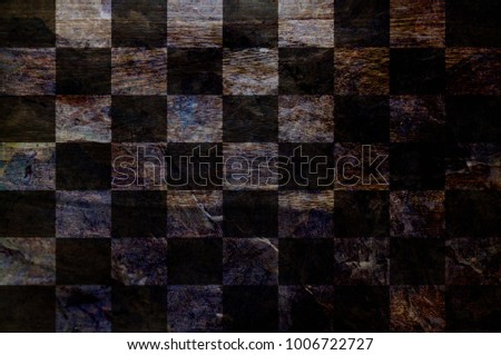 Wood checkered Flag texture background