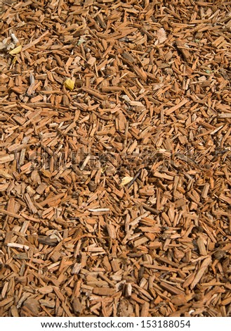 Wood chips background vertical