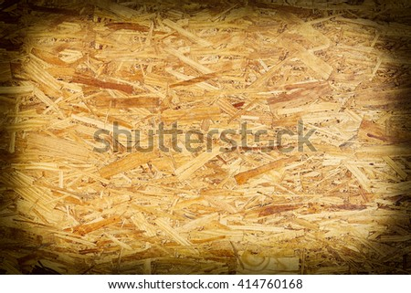 wood chips compressed together for background. - stock photo