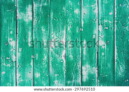 Wood color cracked in vintage condition for background pattern and decoration interior design - stock photo