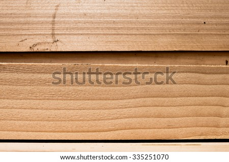 Wood construction. - stock photo