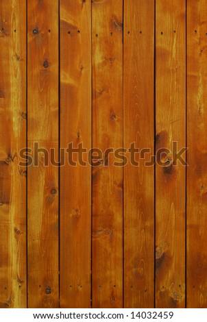 wood fence background - stock photo