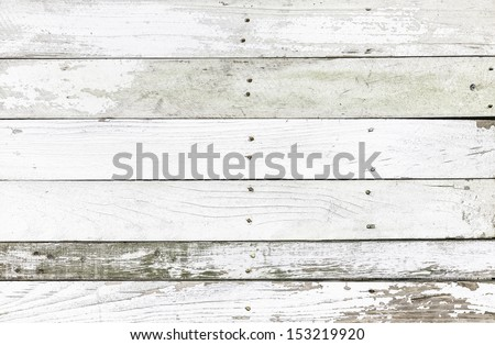 Wood fence texture or background - stock photo