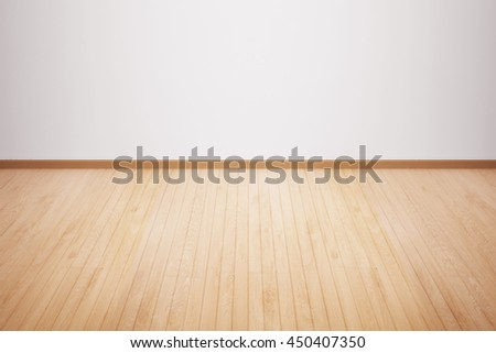 wood floor isolated wood floor textured pattern background empty white wall backdrop isolated