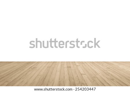 light wood floor. Wood floor perspective view with wooden texture in light brown color  isolated on white wall background Floor Stock Images Royalty Free Vectors Shutterstock