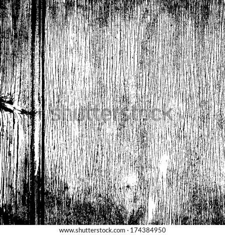 Wood grunge grainy overlay texture for your design. - stock photo