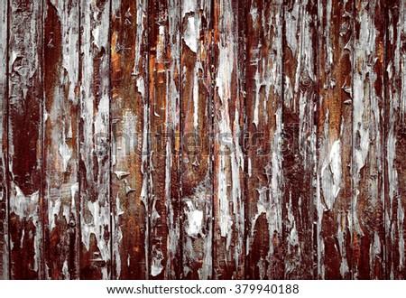 Wood grunge vintage texture background - stock photo