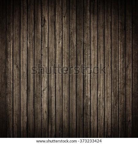 Wood grunge wall background - stock photo