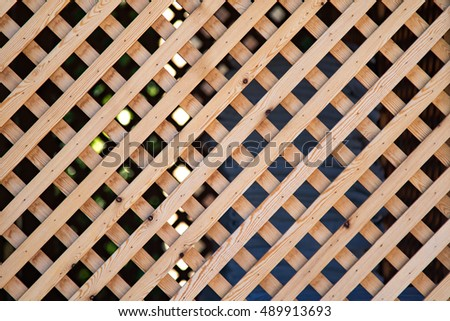 wood lattice fences texture background