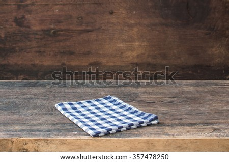 Wood material background for product display. - stock photo