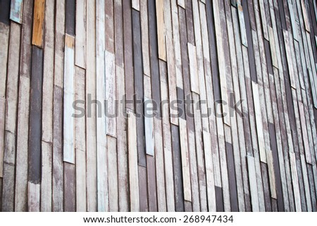 Wood material background for Vintage wallpaper, Vintage style - stock photo