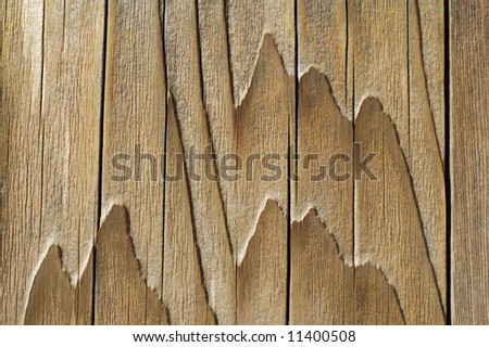 Wood Mountains - stock photo