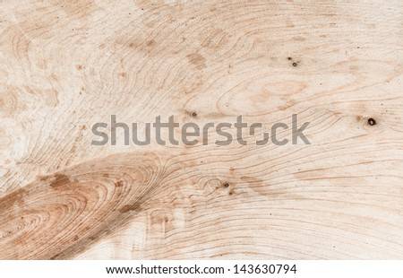 Wood old natural plank brown texture - stock photo