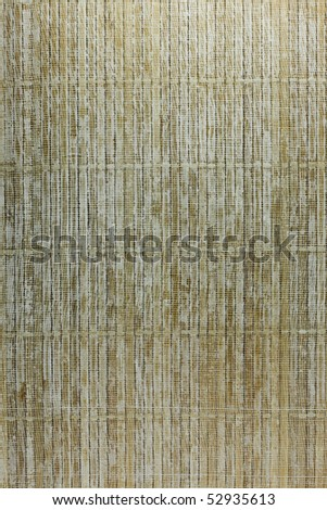Wood on a canvas texture. - stock photo