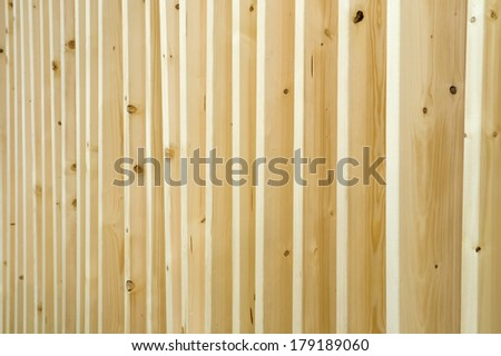 Wood panels in a row  - stock photo