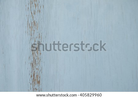 Wood peeling paint