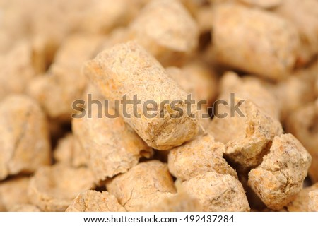 Wood Pellet (Pine) Cat Litter Macro