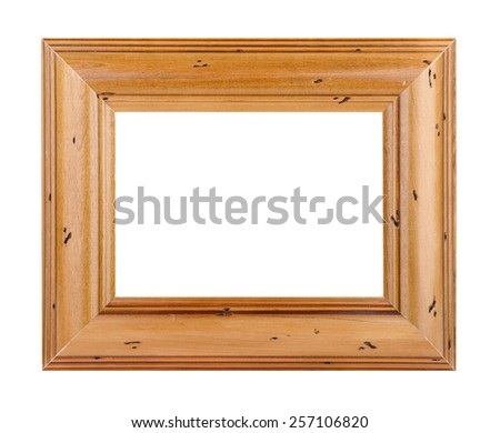 Wood Picture Frame with Path