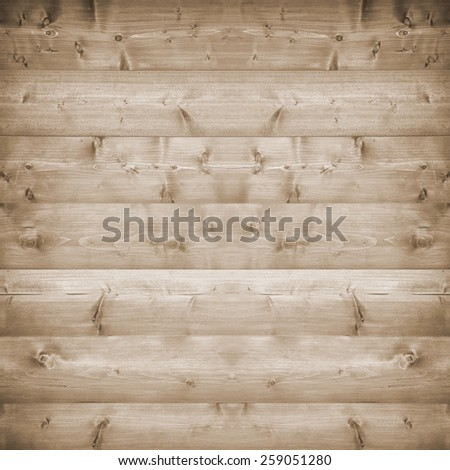 Wood pine plank brown texture background - stock photo