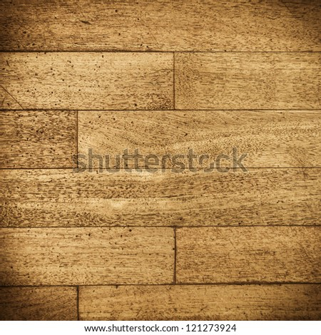 Wood plank brown texture - stock photo