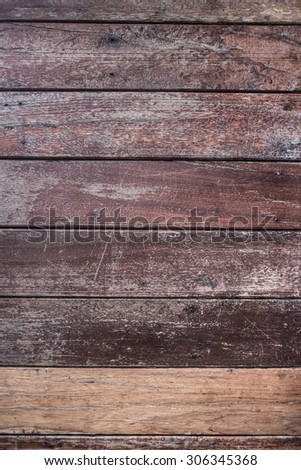 Wood plank brown texture background
