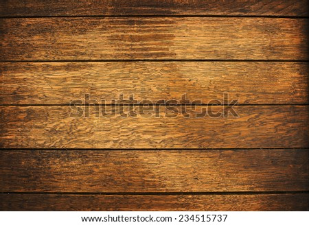 Wood plank brown texture background close up