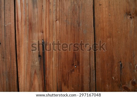 Wood plank brown texture background. Place for your text.