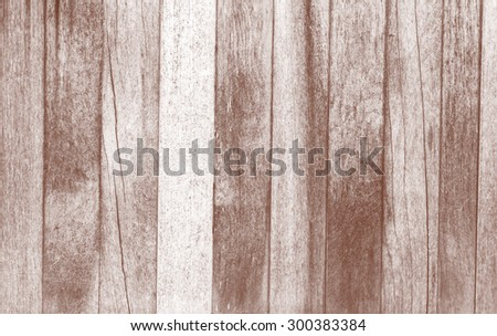 Wood plank brown texture background processed in tinted photo in red tone - stock photo