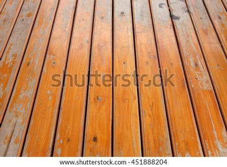 Wood plank floor texture background - stock photo