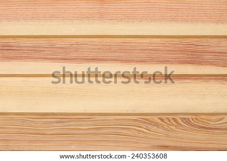 wood plank panel background decorated wall in house - stock photo
