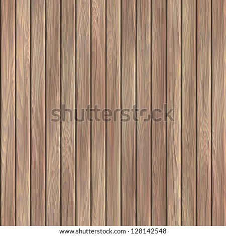 Wood plank. Seamless texture. - stock photo