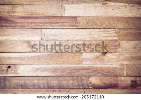 wood plank texture background, image vintage tone - stock photo
