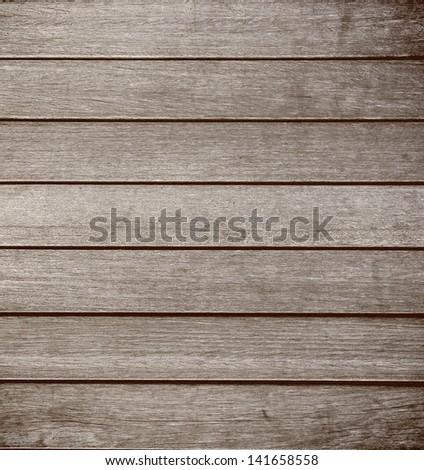 Wood plank texture floor - stock photo
