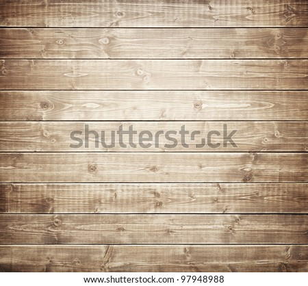 Wood plank texture for your background - stock photo